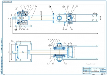 Конструкторская разработка напольного подъёмника модели ПГНЭШ – 9