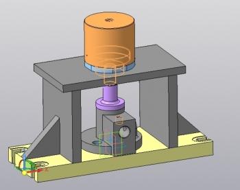 4.3D-модель приспособления в сборе