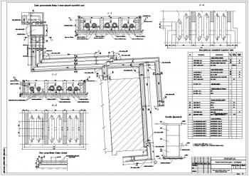 Подземное сооружение - внешние тепловые сети корпуса