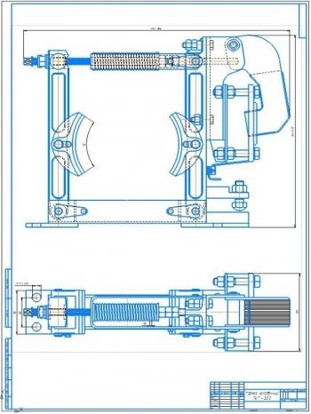 Проект поворотного консольного крана на неподвижной колонне