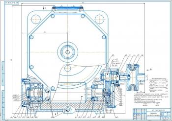 Конструкция цилиндрического червячного редуктора для индивидуального привода