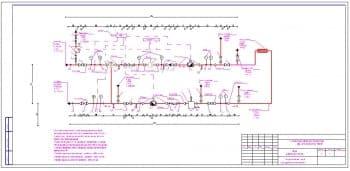 5.Чертеж узла учета тепловой энергии и узла управления системы отопления с техническими требованиями
