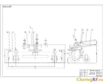 Сборочный установки щетки (формат А1)