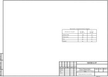 5.Чертеж общих данных (окончание) с рассчитанным сопротивлением теплопередаче наружных ограждений 2 (формат А3)