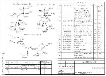 5.Чертеж схем вытяжных систем В2, В3, В4, со спецификацией (формат А3)