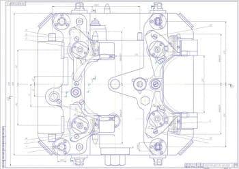 5.Чертеж СБ спутника с указанием величин конструкции (формат А1)
