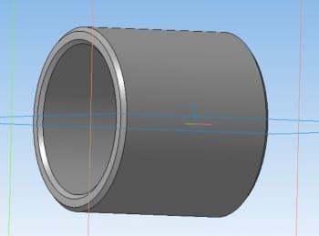 5.3D-модель втулки