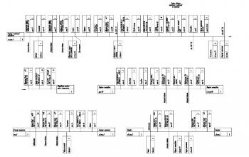 5.Схема сборки передачи конечной и тормоза