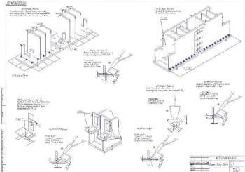 Рабочие чертежи крана мостового типа грузоподъемностью 15 тонн и высотой подъема грузов 16 метров