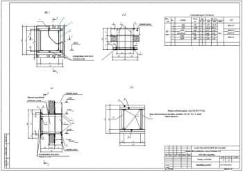 6.Сборочный чертеж ветроотбойного щита с техническими требованиями