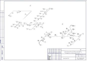 6.Чертеж схем П1, П2 (формат А3)
