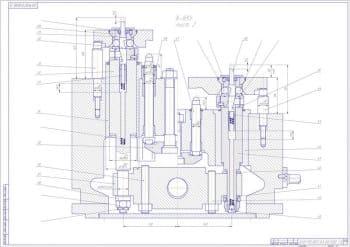 6.Сборочный чертеж спутника, с проставлением размерности (формат А1)