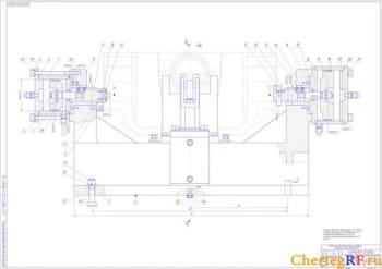 6.СБ фрезерного приспособления 3-ий лист (формат А0)