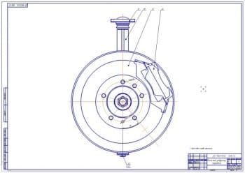 6.Колесный редуктор передний в сборе (формат А1)