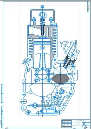 Проект дизельного форсированного двигателя ТМЗ-3ДФ мощностью 16 кВт
