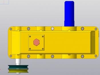 Проект одноступенчатого шевронного цилиндрического редуктора