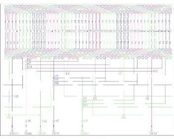 6.Чертеж схемы обмотки (формат А1)