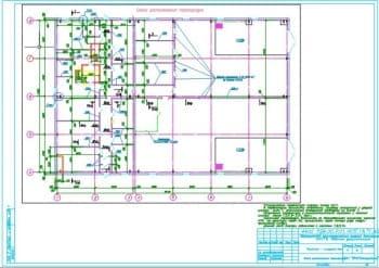 7.Чертеж схемы расположения перегородок с техническими требованиями