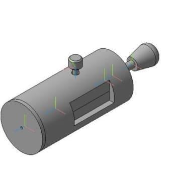 3D-моделирование глубиномера чертежи