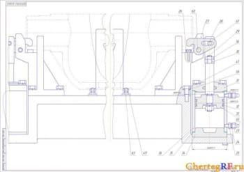 Чертежи поточной линии механической обработки балансира колеса автоприцепа