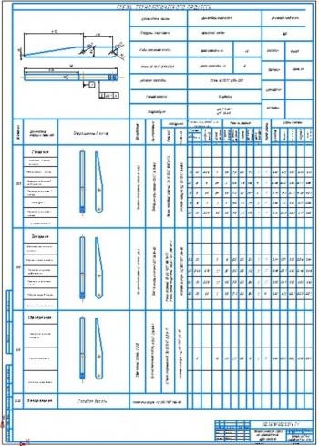 7.Технологическая карта на изготовление зуба захвата (А1)