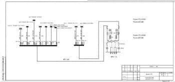 7.Чертеж расчетной схемы питающей сети здания СТО (формат А3*4)
