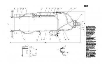 9.Сборочный чертеж управления рулевого гидроподъемного
